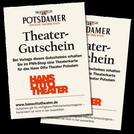 2 Gutscheine Hans Otto Theater