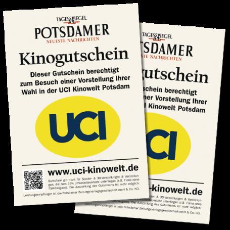2 Gutscheine UCI Kinowelt Potsdam