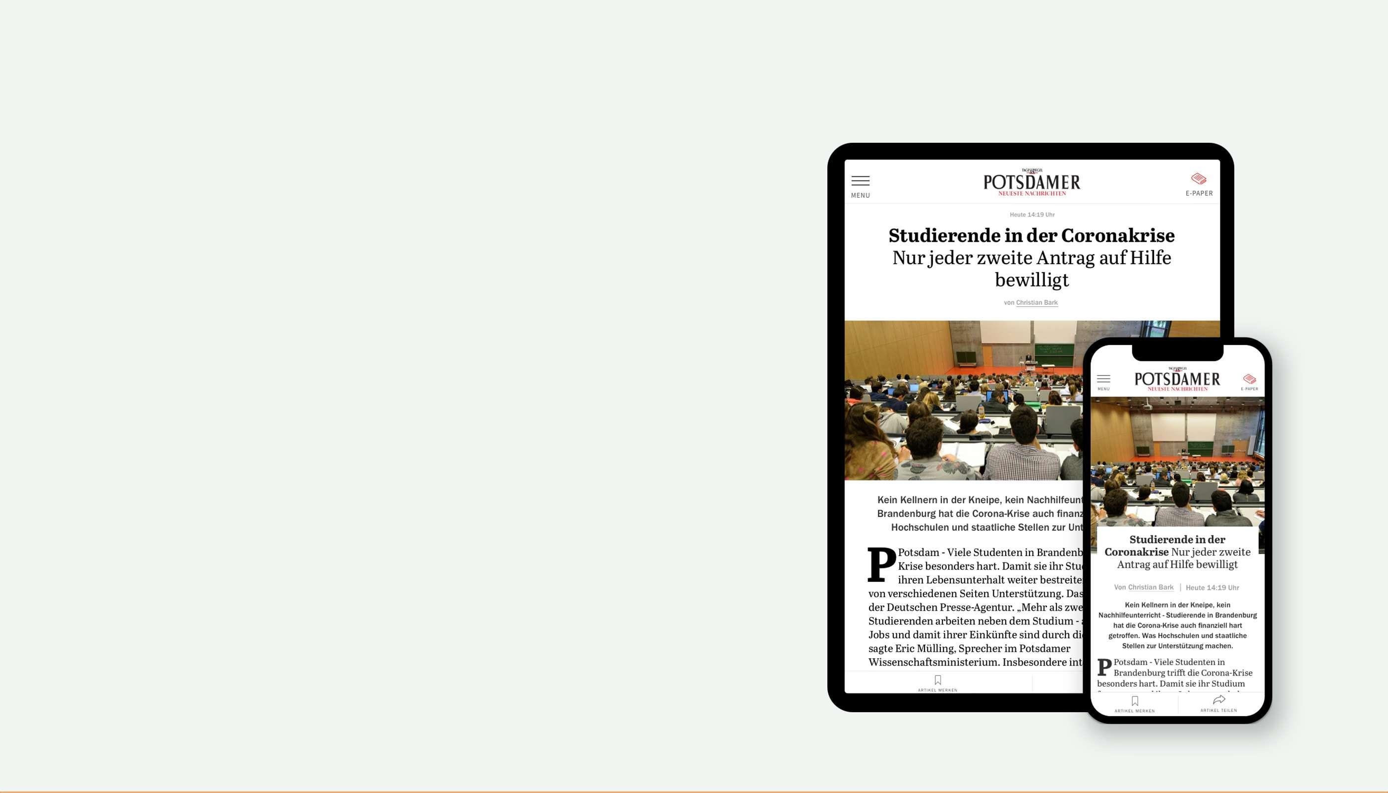 PNN Digitale Zeitung für Studierende