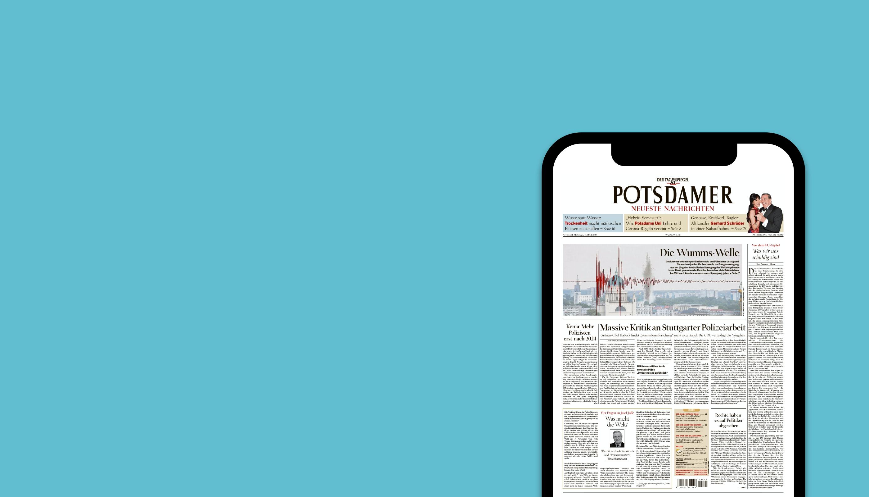 Die digitale Zeitung für Studierende