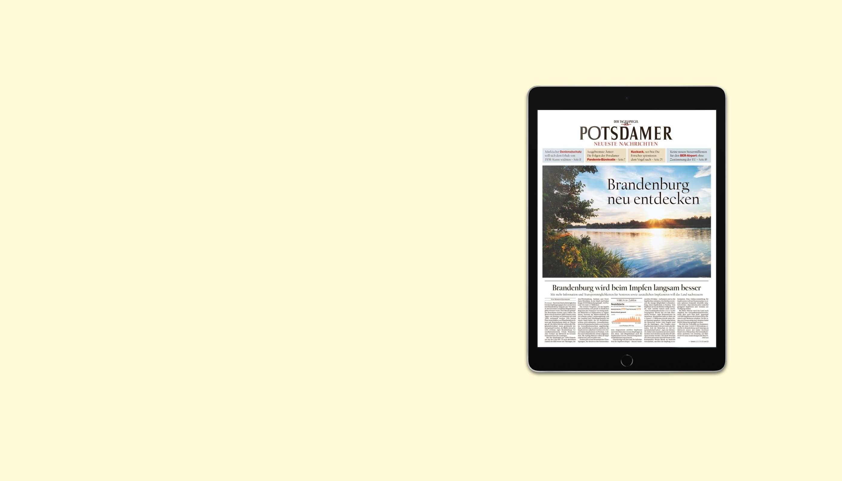 PNN lesen. iPad 2021 geschenkt.