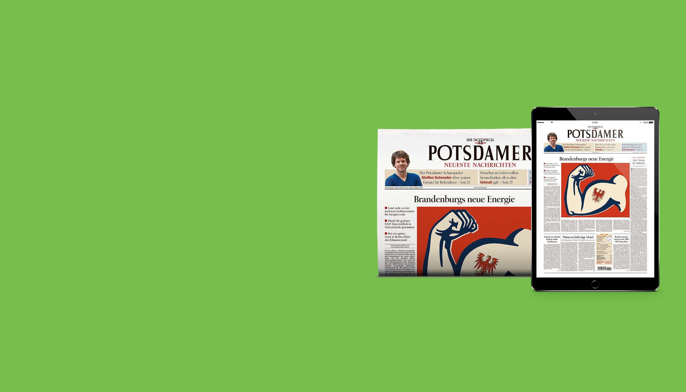 Das Digital-Upgrade für Print-Abonnenten