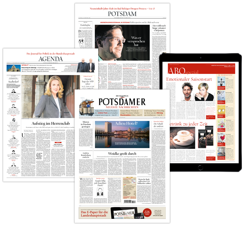 Vorteile als Abonnent der Potsdamer Neueste Nachrichten